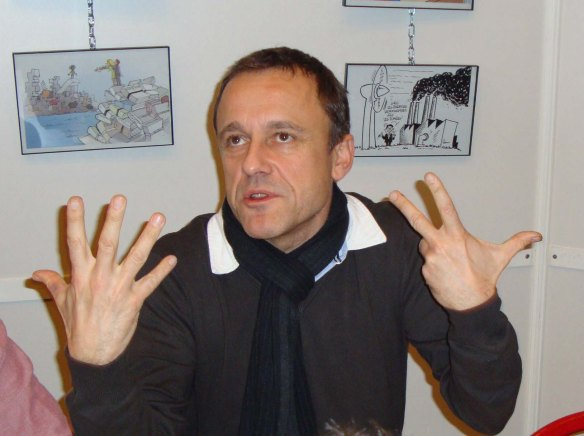 CHAUNU (France cartoonist)